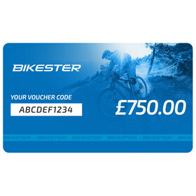 Bikester Gift Certificate Voucher £750